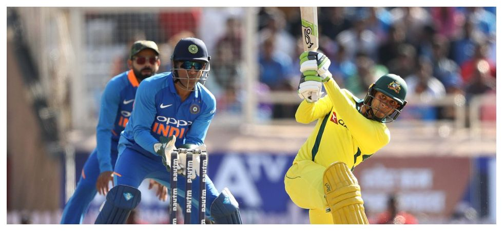 Usman Khawaja scored his maiden century as Australia dominated India in the Ranchi ODI. (Image credit: Twitter)