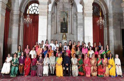 International Women's Day 2019: President Ram Nath Kovind gives away Nari Shakti Puraskar