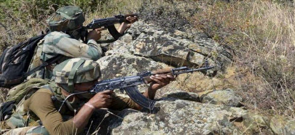 Pakistan targetted forward post in Jammu and Kashmir's Pallanwala village in Akhnoor. (File Photo)