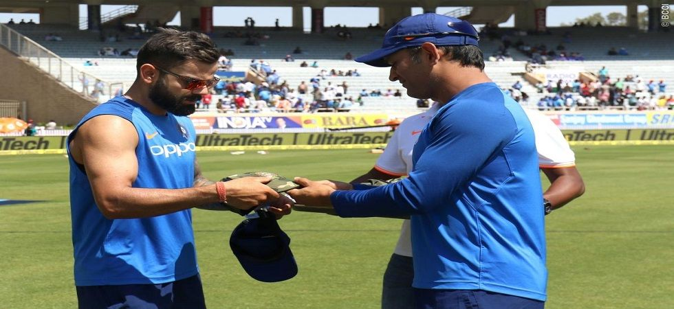 The Indian players had don camouflage cap in the third ODI against Australia to pay tribute to the soldiers (Image Credit: Twitter)