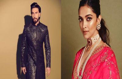 Ranveer Singh and Deepika Padukone make a stylish appearance at Akash-Shloka's wedding