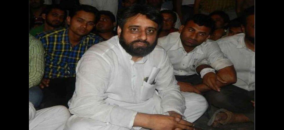 Aam Aadmi Party (AAP) MLA Amanatullah Khan