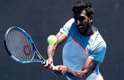 Prajnesh Gunneswaran beats world number 18 Nikoloz Basilashvili in Indian Wells ATP Masters event