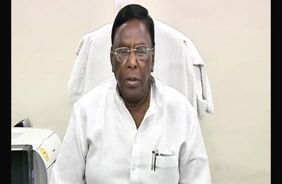 AIADMK accuses Puducherry Chief Minister Narayanasamy of violating model code of conduct