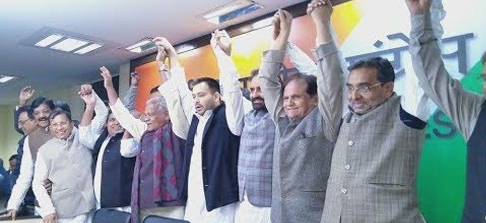 Opposition's Grand Alliance in Bihar