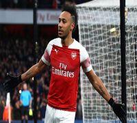 Aubameyang steals Arsenal's comeback to reach Europa League quarter-finals
