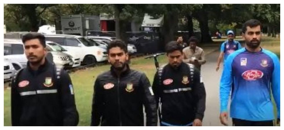 Christchurch Shooting Image: Christchurch Mosque Shooting: Narrow Escape For Bangladesh