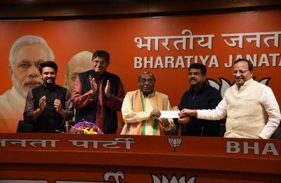 Odisha Assembly polls: Expelled BJD MLA Damodar Rout joins BJP