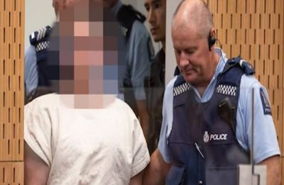 Christchurch mosque shooter smirks in court, makes white power gesture