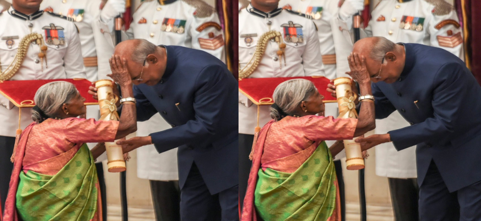When 'Mother of Trees' broke protocol of Rashtrapati Bhavan to bless Prez Kovind (Photo Source: @rashtrapatibhvn)