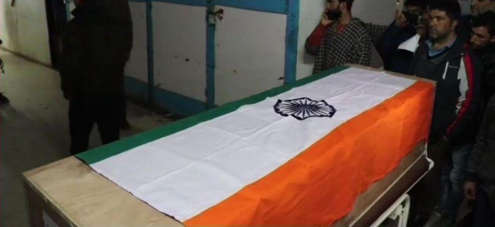 SPO Khushboo Jan shot dead by terrorists outside her house in J-K's Shopian (Photo Source: ANI)