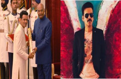Manoj Bajpayee receives fourth highest civilian award Padma Shri from the President Ram Nath Kovind