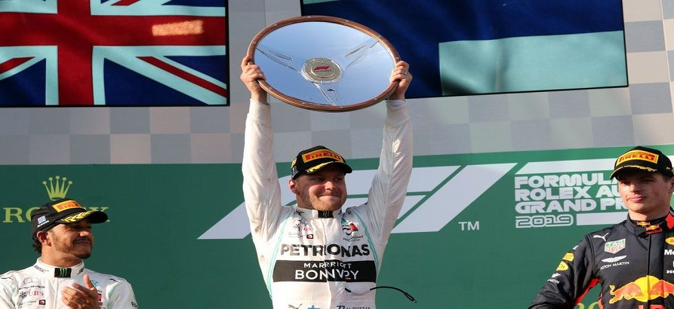 Valtteri Bottas secured an amazing win in the Australian Grand Prix, winning by a gapof 20.9 seconds against current world champion Lewis Hamilton. (Image credit: Australian Grand Prix Twitter)
