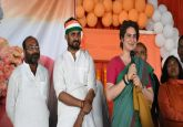 On 'Ganga Yatra',  Priyanka Gandhi addresses rally in Prayagraj