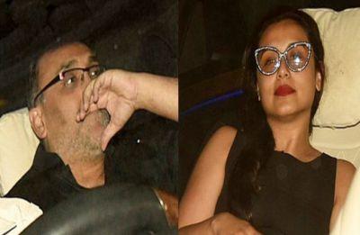 OMG! This is no fake news, Aditya Chopra gets clicked by paps outside Karan Johar's house