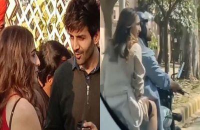 Sara Ali Khan goes on bike ride with Kartik Aaryan, gets trolled for not wearing helmet