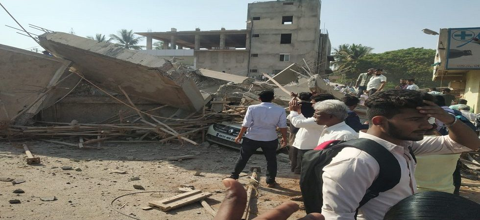 3 killed, 40 feared trapped as under-construction building collapses in Karnataka's Dharwad