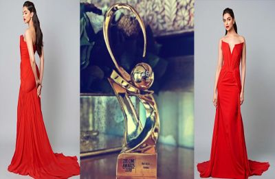 Deepika Padukone sets the ball rolling with her first award of 2019!