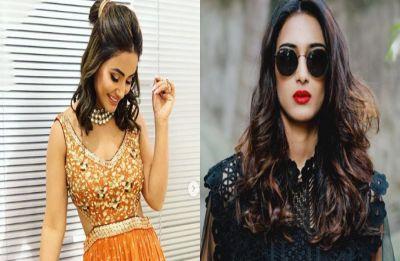 Amidst rumours of tiff, Hina and Erica celebrate Holi on Kasauti Zindagii Kay 2 sets