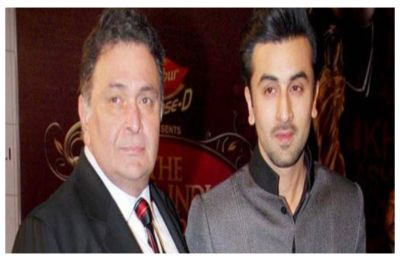'My father is doing well' says Ranbir Kapoor on Rishi Kapoor's health