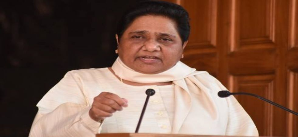 """They (the data) are to be hidden for vote/image. Does the country need such a chowkidar?"" Mayawati wrote. (File photo)"
