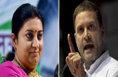 Smriti Irani says Rahul 'staged' Kerala invite, Congress reminds her of 2014 poll debacle
