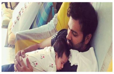 Rohit Sharma's three-month daughter Samaira dances to Gully Boy rap – Watch