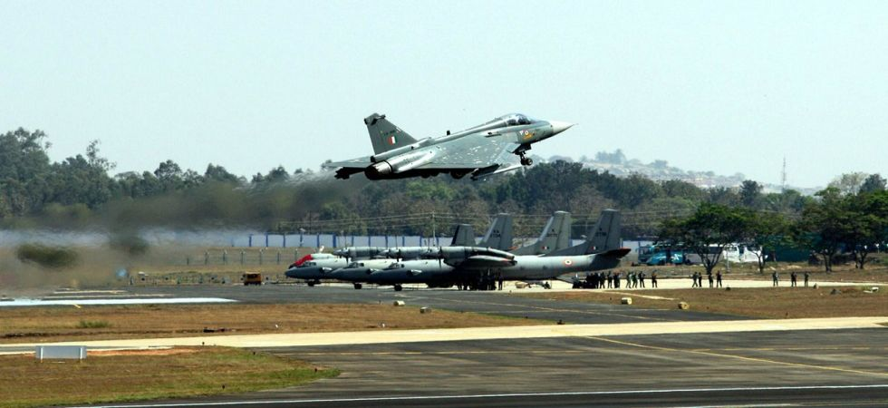 HAL rolls out 16th LCA Tejas for IAF, will be flying at Langkawi from March 26 (File Photo)