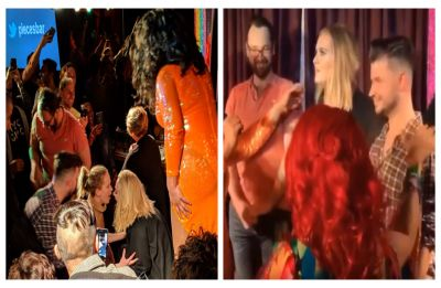 WATCH | Adele, Jennifer Lawrence surprise fans at gay bar in New York