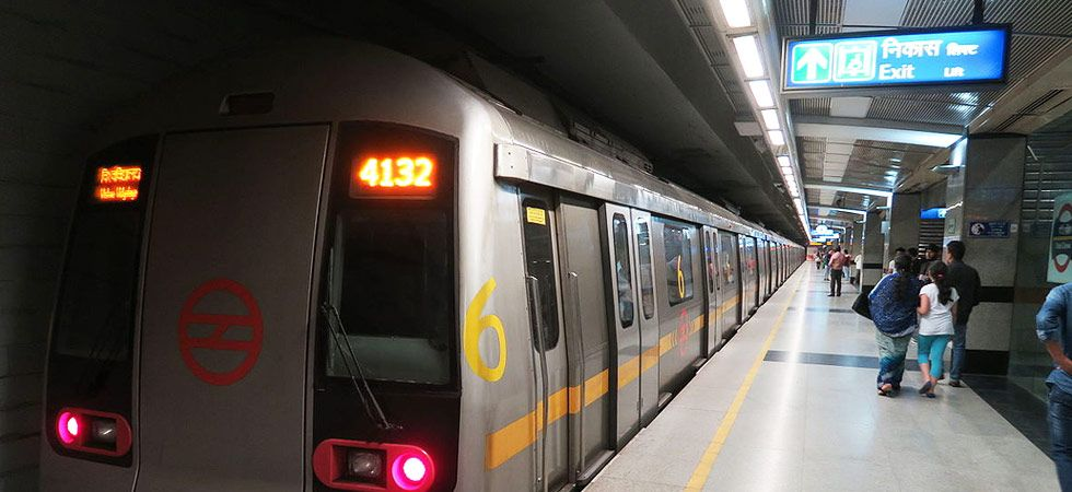 Carrying arms and ammunition in the Delhi Metro is banned by the law.