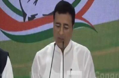 Spell out stand on Congress' proposed 'Nyay' scheme: Surjewala to PM Modi