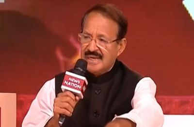 News Nation Conclave | One who can't chant 'Bharat Mati ki Jai' cannot live in India: Rashid Alvi