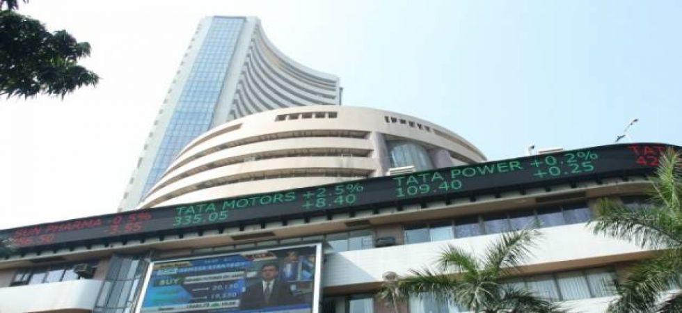 Sensex rallies 425 points to close at 38,233 (file photo)