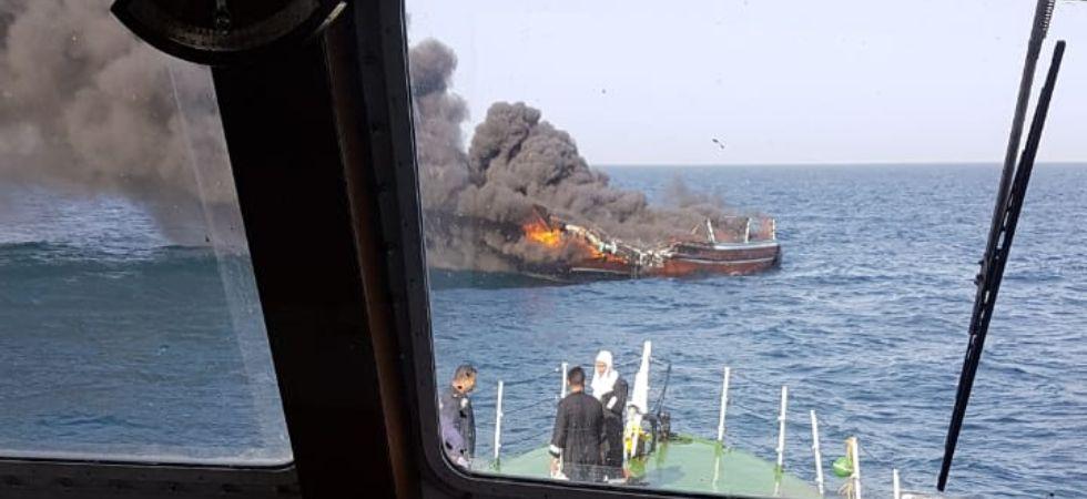 Indian Coast Guard, Gujarat ATS seize 100 kg drugs from Pakistani boat off Porbandar coast, 9 arrested