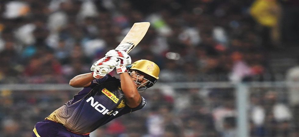 Nitish Rana slammed his second consecutive fifty as he started off the 2019 Indian Premier League with a bang for Kolkata Knight Riders. (Image credit: Twitter)