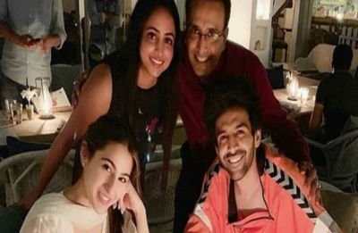Sara Ali Khan and Kartik Aaryan FINALLY went on date, check out pictures