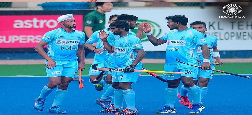 The second quarter saw India strengthen their attack as they made space inside the striking circle (Image Credit: Twitter)