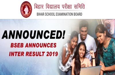 Bihar BSEB 12th Results 2019 released, Check your results now