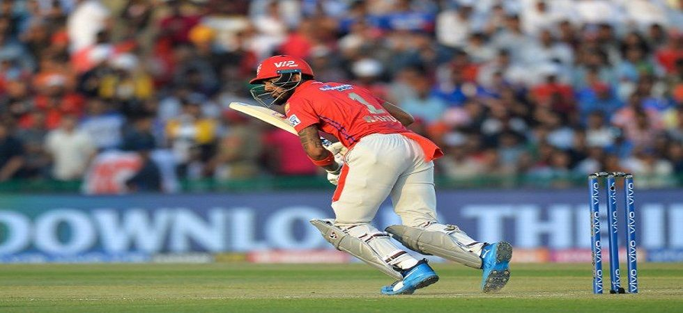 Quinton de Kock fell to Mohammed Shami but Mumbai Indians were in a good position against Kings XI Punjab IPL 2019 encounter at the PCA stadium in Mohali. (Image credit: Twitter)