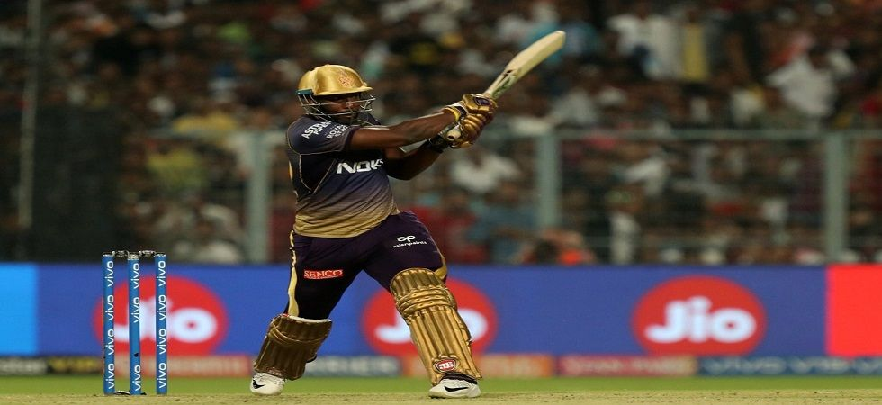 Andre Russell continued his magnificent form and became the leading run-getter in the IPL 2019 with an explosive fifty against Delhi Capitals. (Image credit: Twitter)