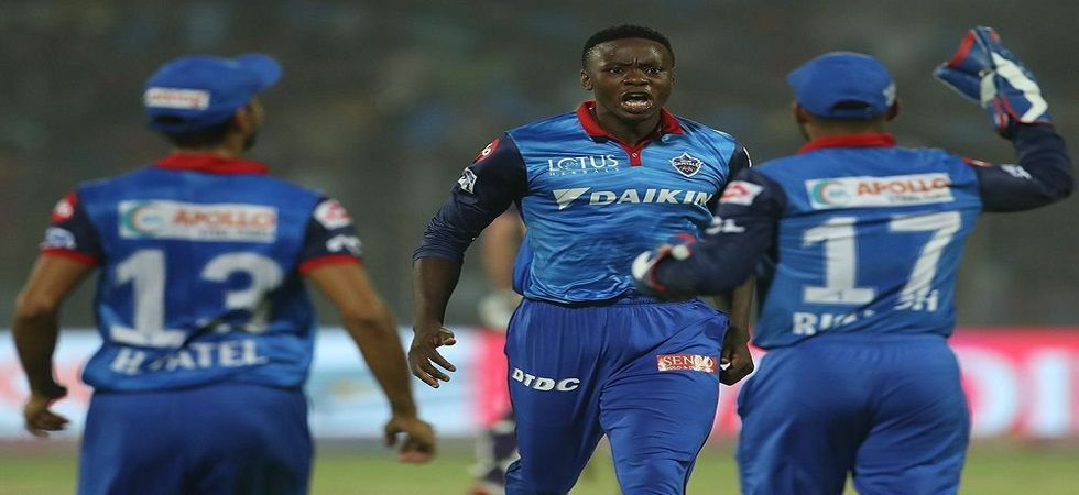 Kagiso Rabada bowled a brilliant super over as Delhi Capitals held their nerve to win by three runs in the super over. (Image credit: Twitter)