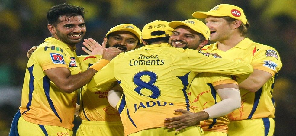 Chennai Super Kings won the third game and were on top of the table in IPL 2019 after beating Rajasthan Royals at the MA Chidambaram stadium.(Image Credit: Twitter)