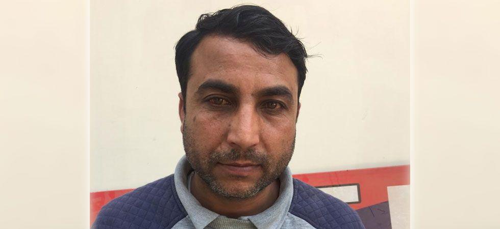 Faiyaz Ahmed Lone was arrested from Srinagar (ANI Photo)