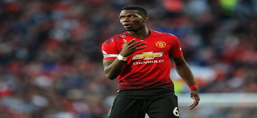 Paul Pogba has fuelled speculations that he might move to Real Madrid after reports emerged that Zinedine idane is expected to have a big transfer budget for the club. (Image credit: Twitter)