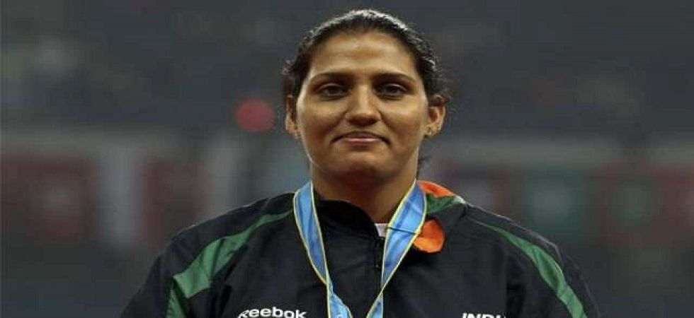 Olympian Krishna Punia (File Photo)