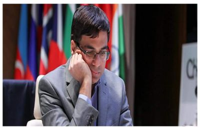 Viswanathan Anand bounces back in Shamkir Chess after loss to Magnus Carlsen