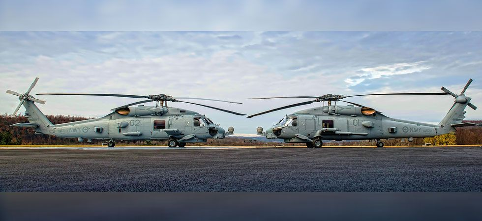 The choppers are considered the world's most advanced maritime helicopter. (Photo courtesy: Lockheed Martin)