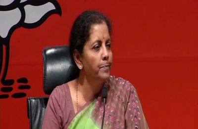 Nirmala Sitharaman slams Congress manifesto, says it's trying to weaken armed forces