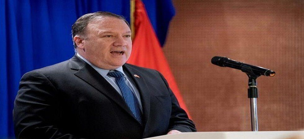 Pompeo will already be seeing several of his G7 counterparts Wednesday and Thursday in Washington at a 70th-anniversary gathering of the NATO alliance, but he has no announced conflicting engagements later in the week. (File photo)