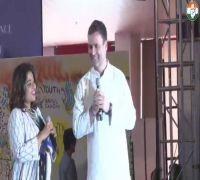 Rahul Gandhi talks about Priyanka, shares childhood memories with students in Pune